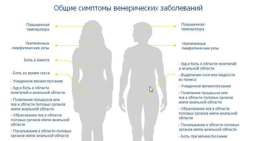Половые инфекции, причины возникновения и симптомы